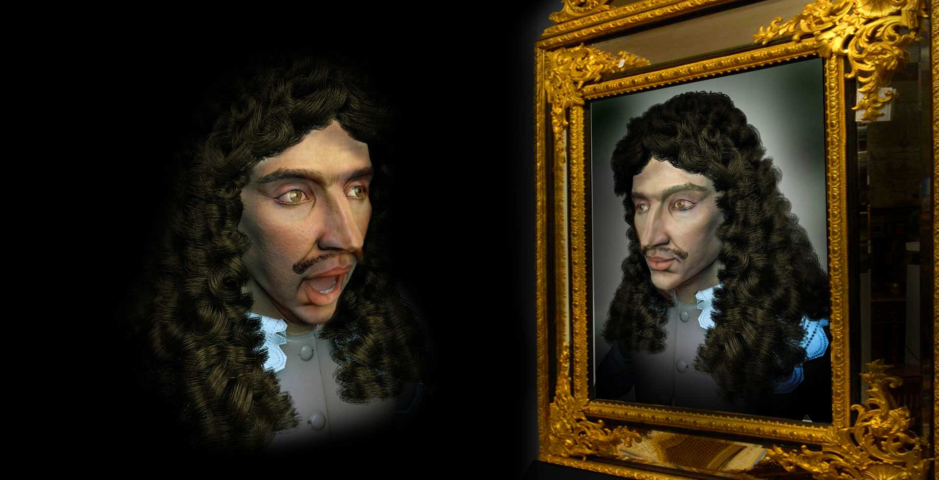 Demo acteur virtuel Molière Virtuel . Doublesprit